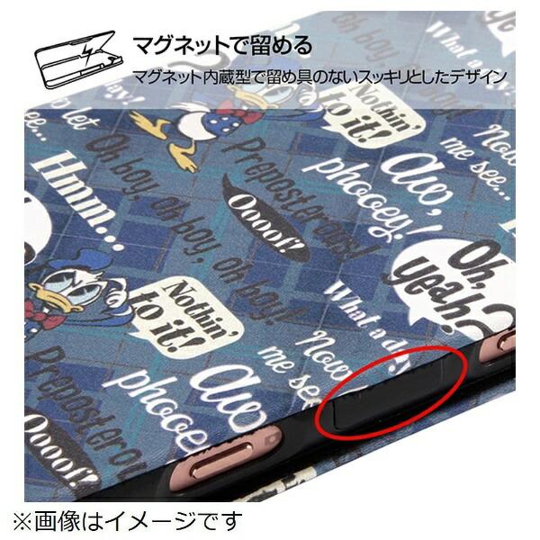イングレムIngremXperiaXZ2Compactディズニー手帳型アートケーススリムドナルト1INRDXZ2COMLC3DD001