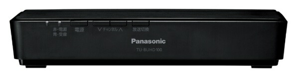 パナソニックPanasonicTU-BUHD100【BS4K/110度CS4K/地上デジタル】地上・BS・110度CS4Kチューナー[Googleアシスタント対応][TUBUHD100]