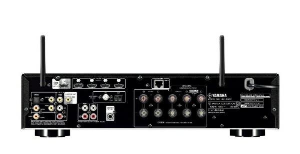 ヤマハYAMAHARX-S602BAVアンプブラック[ハイレゾ対応/Bluetooth対応/Wi-Fi対応/ワイドFM対応/5.1ch][RXS602B]