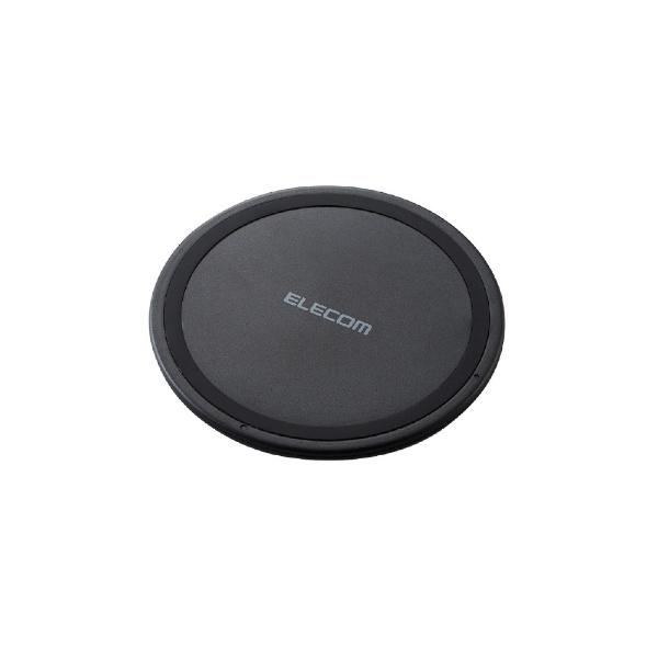 エレコムELECOMワイヤレス充電器[Qi対応]5W薄型卓上ブラックW-QA03XBK[ワイヤレスのみ][WQA03XBK]