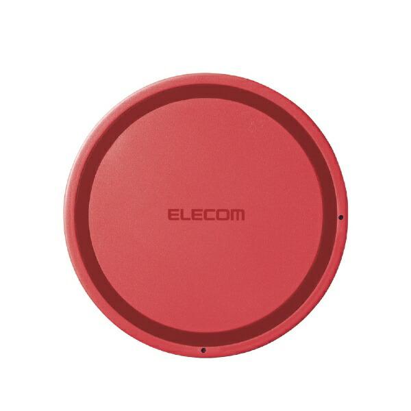 エレコムELECOMワイヤレス充電器[Qi対応]5W薄型卓上ピンクW-QA03XPN[ワイヤレスのみ][WQA03XPN]