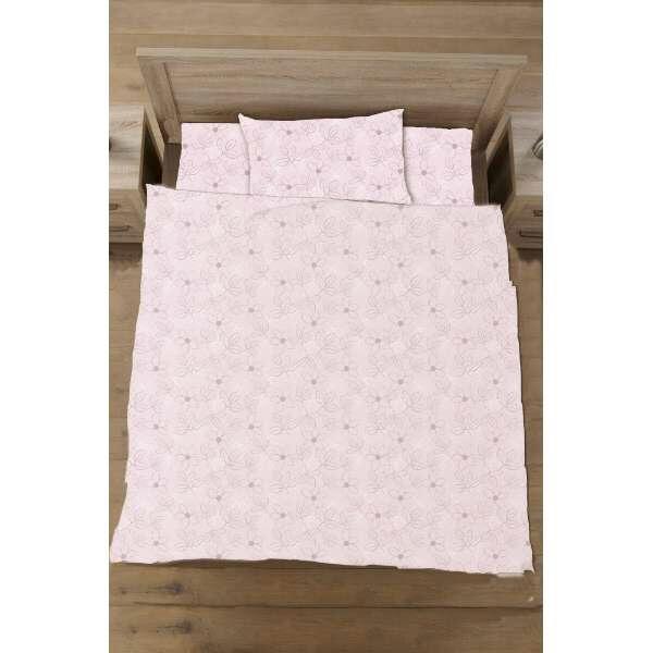生毛工房UMOKOBO【掛ふとんカバー】綿ローンリーフダブルサイズ(綿100%/190×210cm/ピンク)【日本製】