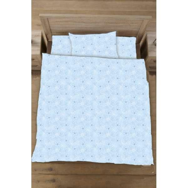 生毛工房UMOKOBO【ボックスシーツ】綿ローンリーフセミダブルサイズ(綿100%/120×20×030cm/ブルー)