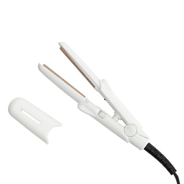 KINUJO絹女DG070ストレートアイロン絹女〜KINUJO〜ホワイト[交流(コード)式][DG070]