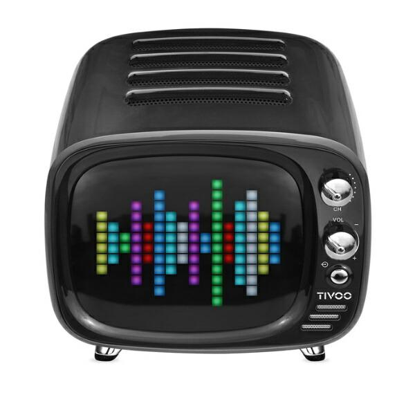 DIVOOMディブームブルートゥーススピーカーDIV-TIVOO-BKブラック[Bluetooth対応][DIVTIVOOBK]
