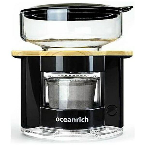 UNIQユニークUQ-CR8200BLoceanrich自動ドリップ・コーヒーメーカーブラック[UQCR8200BL]