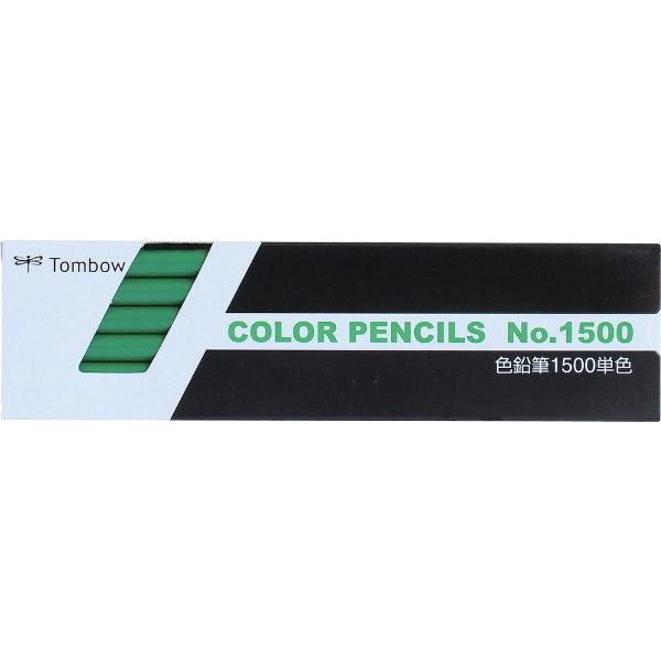 トンボ鉛筆TombowTombow色鉛筆1500単色緑