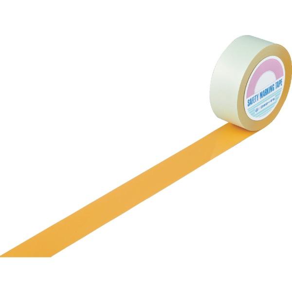 日本緑十字JAPANGREENCROSS緑十字ガードテープ(ラインテープ)オレンジ50mm幅×20m屋内用