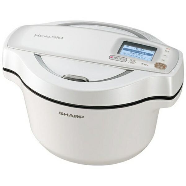 シャープSHARPKN-HW16D-W水なし自動調理鍋HEALSIO(ヘルシオ)ホットクックホワイト系[KNHW16DW]