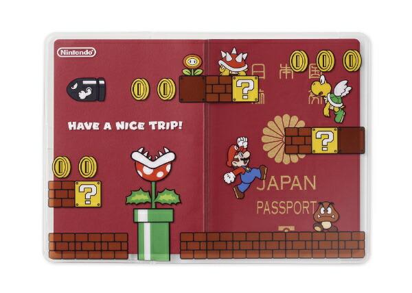 任天堂販売NintendoSalesパスポートカバースーパーマリオ(ステージ)NSL-0034