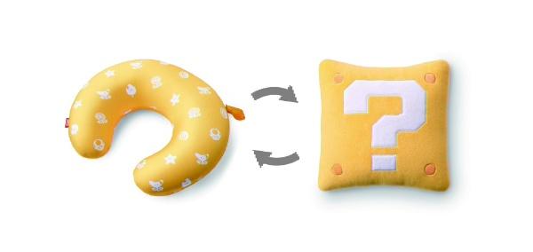 任天堂販売NintendoSales2WAYネックピロースーパーマリオ(ハテナブロック)NSL-0030
