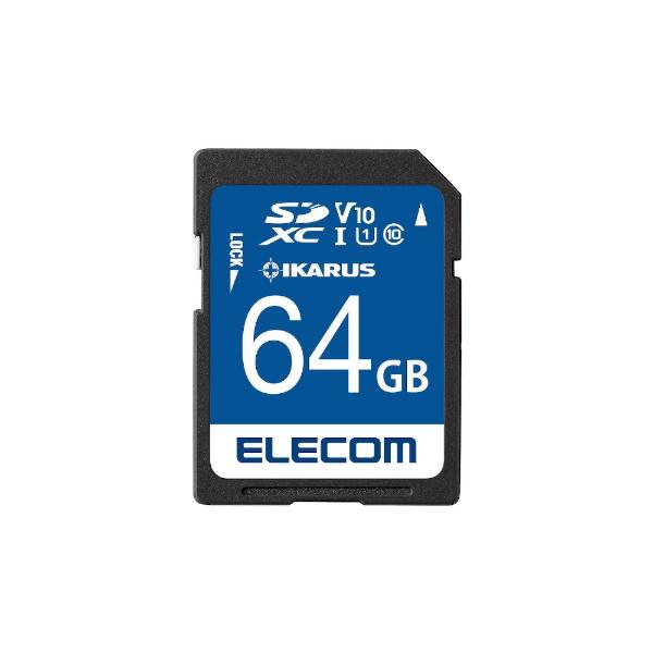 エレコムELECOMSDXCカードMF-FSU11IKA_XCシリーズMF-FS064GU11IKA[64GB/Class10][MFFS064GU11IKA]