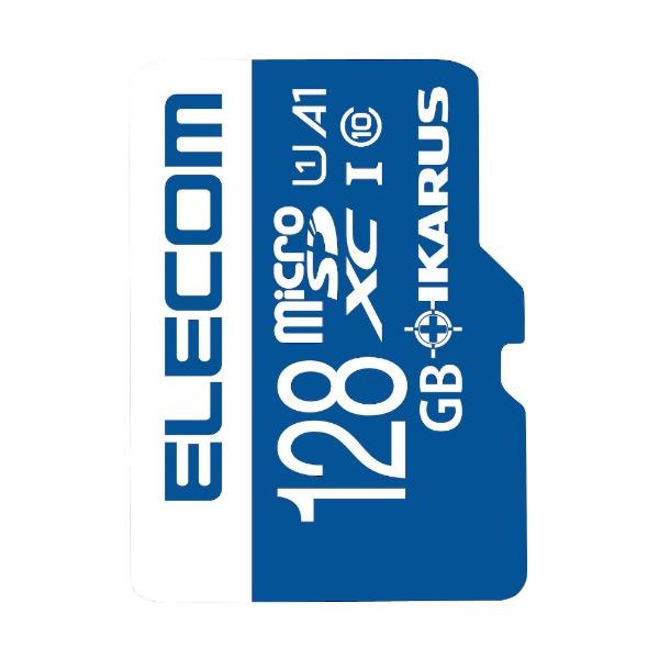 エレコムELECOMmicroSDXCカードMF-MSU11IKA_XCシリーズMF-MS128GU11IKA[128GB/Class10][MFMS128GU11IKA]