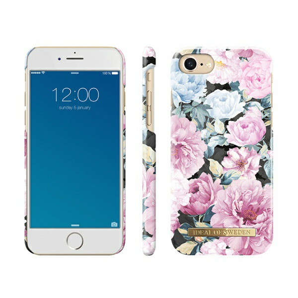 IDEALOFSWEDENiPhone8/7/6S/6用ケースピオニーガーデンIDFCS18-I7-68