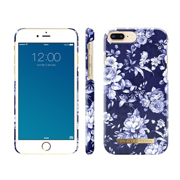 IDEALOFSWEDENiPhone8Plus/7P/6SP/6P用ケースセイラーブルーブルームIDFCS18-I7P-69