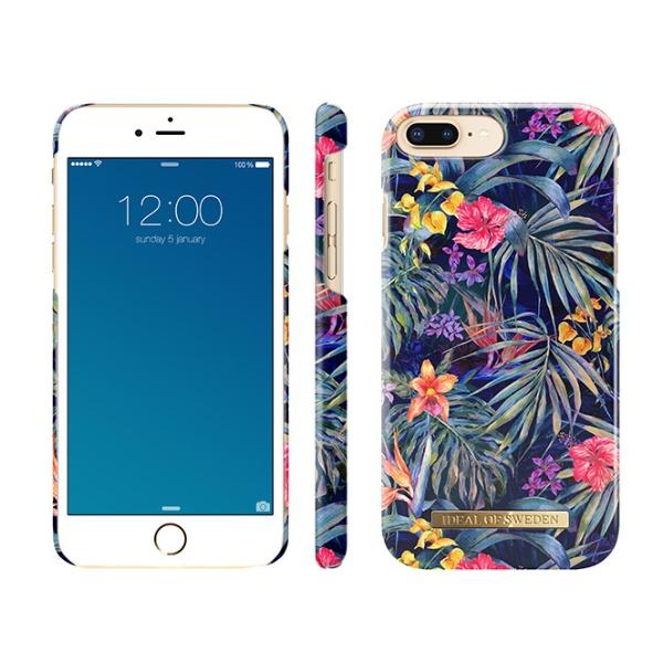 IDEALOFSWEDENiPhone8Plus/7P/6SP/6P用ケースミステリアスジャングルIDFCS18-I7P-72