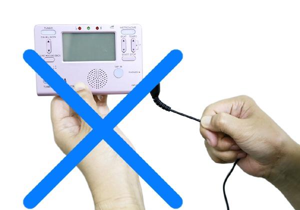 ヤマハYAMAHAチューナー用マイクロフォンTM-30WHホワイト