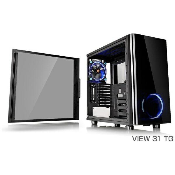THERMALTAKEサーマルテイクPCケースVIEW31TGCA-1H8-00M1WN-00ブラック