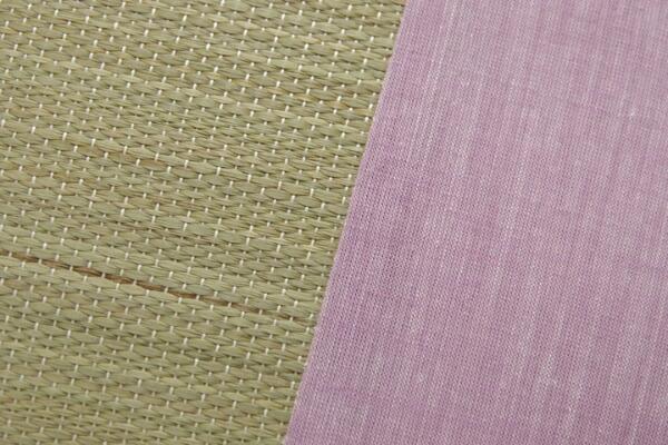 イケヒコIKEHIKOアロマグラス(ラベンダー)い草枕(35×50cm)