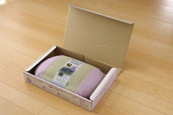 イケヒコIKEHIKOアロマグラス(ラベンダー)い草枕(35×50cm)【日本製】