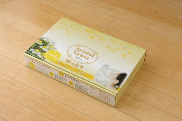 イケヒコIKEHIKOアロマグラス(カモミール)い草枕(35×50cm)【日本製】