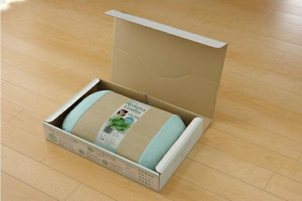 イケヒコIKEHIKOアロマグラス(スペアミント)い草枕(35×50cm)