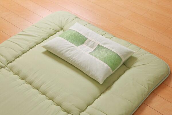 イケヒコIKEHIKO森の眠りひばパイプ枕(35×50cm)【日本製】