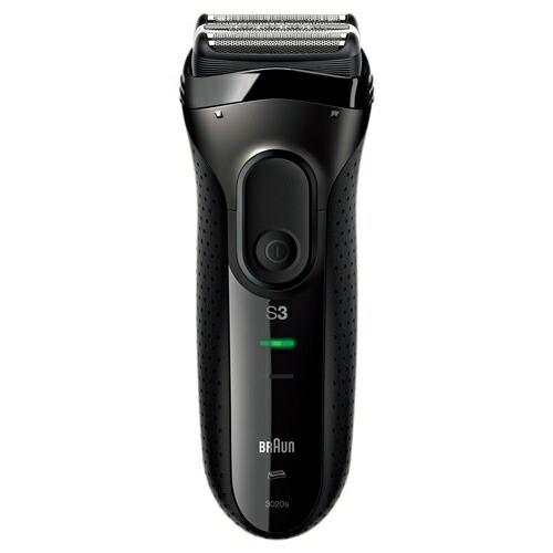 ブラウンBRAUN3020S-B-P1メンズシェーバー[3枚刃/国内・海外対応][電気シェーバー男性髭剃り3020SBP1]