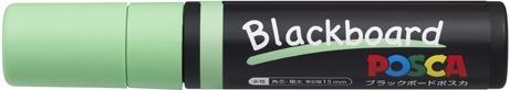 三菱鉛筆MITSUBISHIPENCIL[水性マーカー]ブラックボードポスカ極太角芯PCE50017K1P.5黄緑