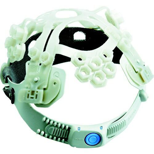 谷沢製作所TANIZAWASEISAKUSHOタニザワエアライト搭載ヘルメット二層構造高通気性型ホワイト