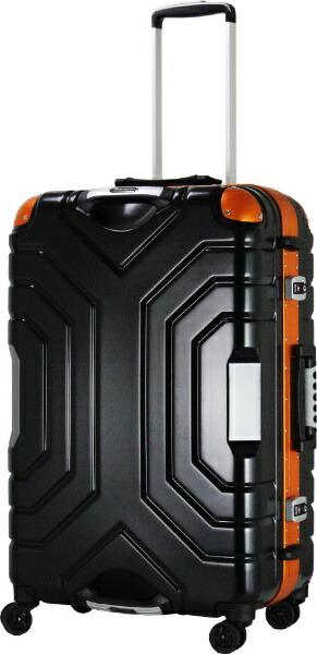 エスケープESCAPEスーツケースハードフレームB5225T-58BK/ORマットBK/OR[52L]