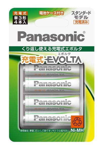 パナソニックPanasonicBK-3MLE/4BC単3形充電池EVOLTA(エボルタ)スタンダードモデル[4本][BK3MLE4BC]