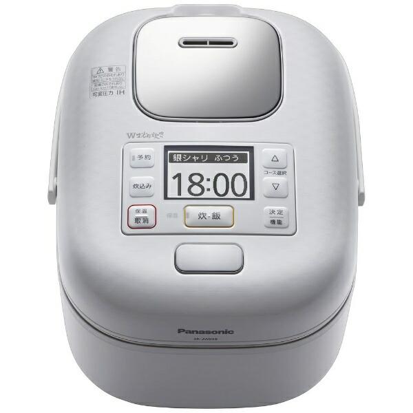 パナソニックPanasonicSR-JW058-W炊飯器Jconcept(Jコンセプト)豊穣ホワイト[3合/圧力IH][SRJW058]