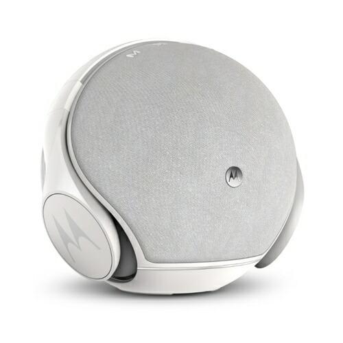 モトローラMotorolaブルートゥーススピーカーMotorolaSphere+(モトローラスフィアプラス)WhiteCLV-632-WH[Bluetooth対応]