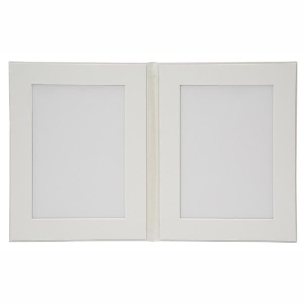 チクマChikumaV-67タテ2L2面パールホワイト10224-3パールホワイト[タテ/2Lサイズ・キャビネサイズ/2面]