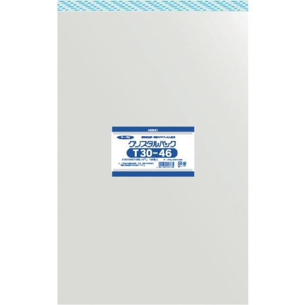 シモジマSHIMOJIMAHEIKOOPP袋テープ付きクリスタルパックT30−46