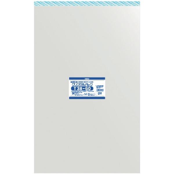 シモジマSHIMOJIMAHEIKOOPP袋テープ付きクリスタルパックT38−60
