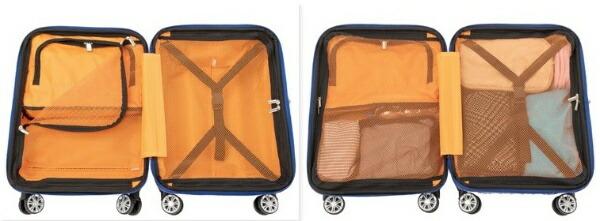協和スーツケース61L(72L)TRAVERIST(トラベリスト)MOMENT(モーメント)カーボンホワイト76-20309[TSAロック搭載]