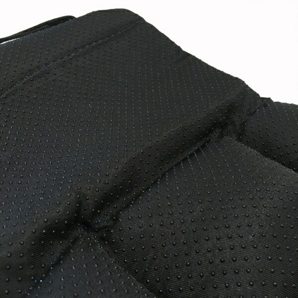 LAKIAラキアチャイルドシート前後兼用クッション(ブラック)228099