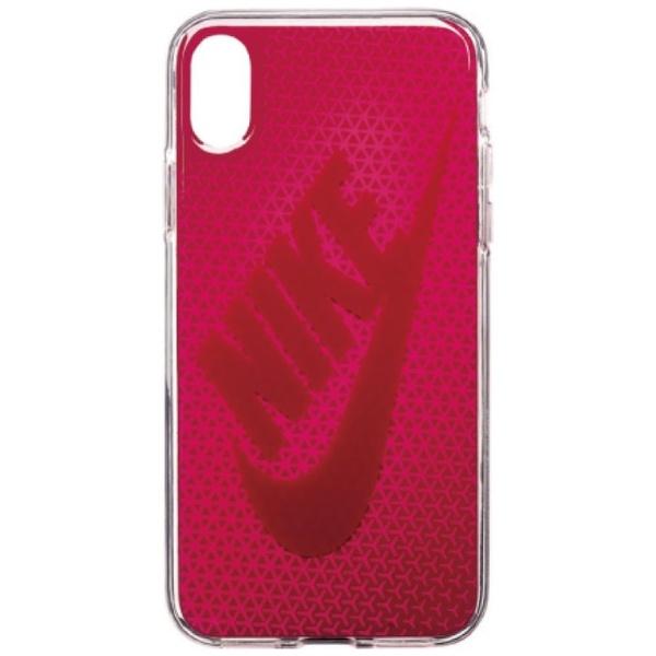 ナイキNIKEiPhoneX用NIKEGRAPHICSWOOSHケースDG0027-922Fラッシュピンク/レッドクラッシュ