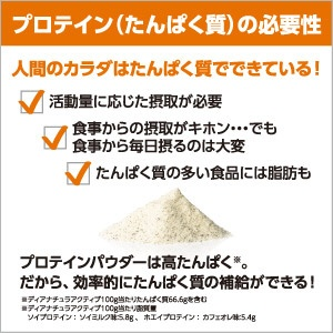 アサヒグループ食品AsahiGroupFoodsDear-Natura(ディアナチュラ)ディアナチュラアクティブソイプロテインココア味360g【rb_pcp】