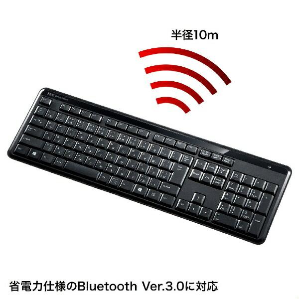 サンワサプライSANWASUPPLYSKB-BT29BKキーボード静音ブラック[Bluetooth/ワイヤレス][SKBBT29BK]