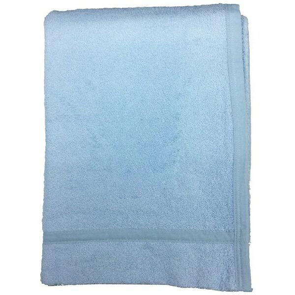 生毛工房UMOKOBO無地カラータオルケットシングルサイズ(140×190cm/ブルー)
