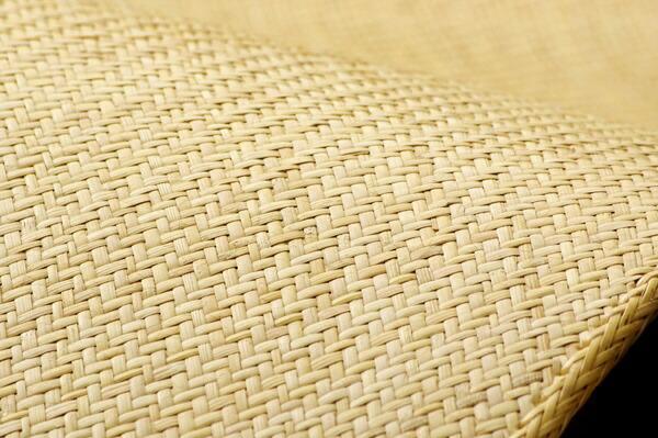 イケヒコIKEHIKO籐マットインドネシア産あじろ織り『宝麗』(35×120cm)