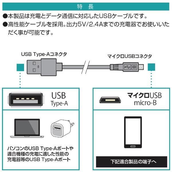 ラスタバナナRastaBanana[microUSB]充電・通信ケーブルアルミ0.2mR02CAAM2A01SVシルバー[0.2m]