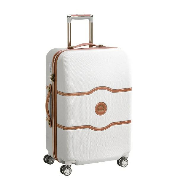 DELSEYデルセースーツケース42LCHATELETAIR(シャトレーエアー)アンゴラ(ホワイト)167280115[TSAロック搭載]