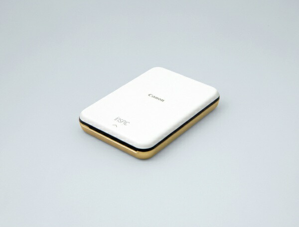 キヤノンCANONモバイルフォトプリンターiNSPiCゴールドPV-123[スマートフォン専用/カードサイズ][PV123GD]【プリンタ】