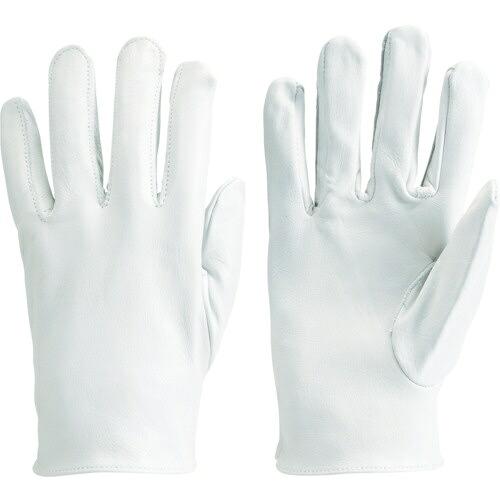 トラスコ中山TRUSCO袖なし革手袋牛本革製M