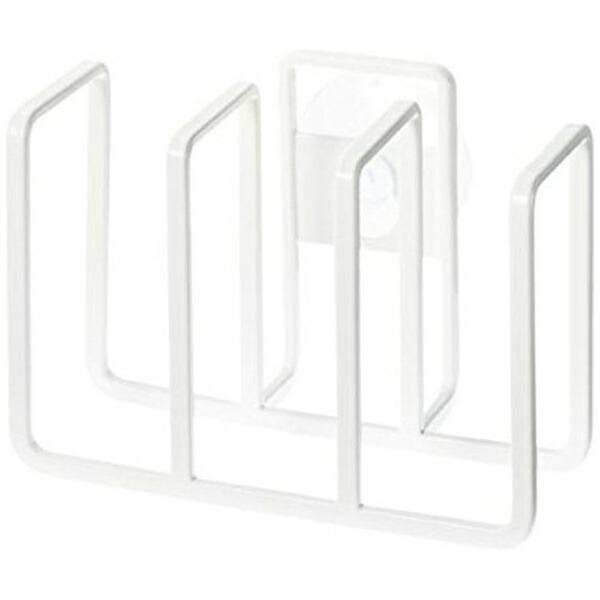 山崎実業Yamazakiプレート吸盤スポンジホルダー3連ホワイト(PlateSpongeHolderWH)02495ホワイト[2495]