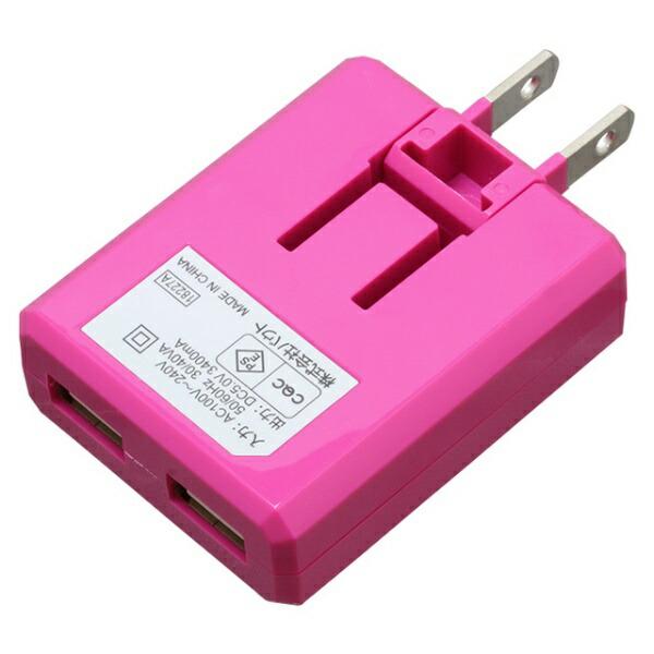 バウトBAUT[Type-C]ケーブル付属ケーブル一体型AC充電器3.4A1.0mPK